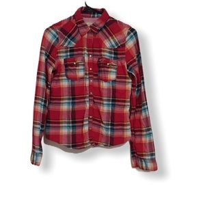 Hollister Flannel Button Up